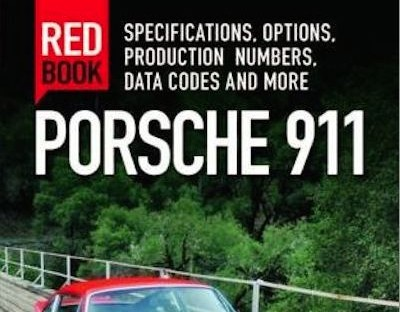 porsche 911 redbook cover