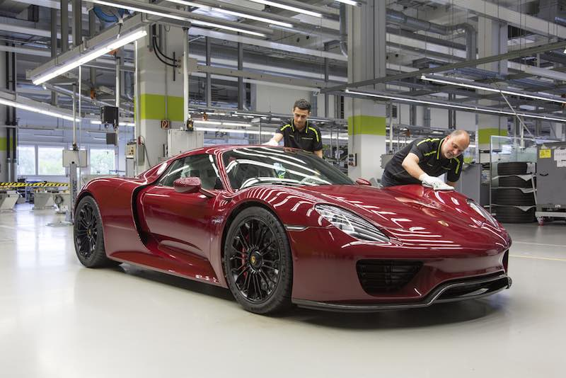 The last Porsche 918 Spyder. #918 of 918