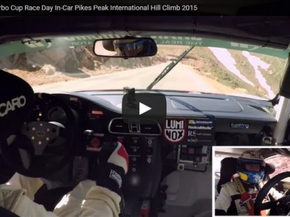 Ride Along With Jeff Zwart As He Attacks Pikes Peak In A Turbocharged GT3