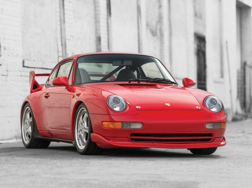RM Auctions 993 Carrera RS