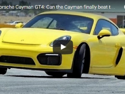 Video: Is The Cayman GT4 A 911 Beater?