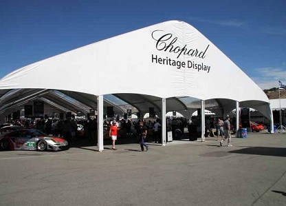 Inside the Amazing Chopard Heritage Display At Rennsport Reunion V