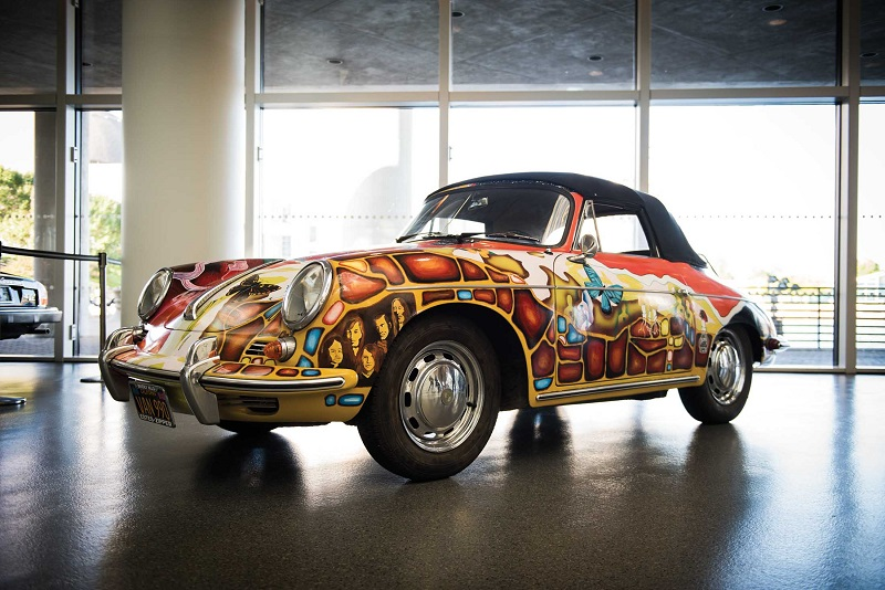 Rm Sotheby S To Sell Janis Joplin S Kaleidoscopic 356 Cabriolet Flatsixes