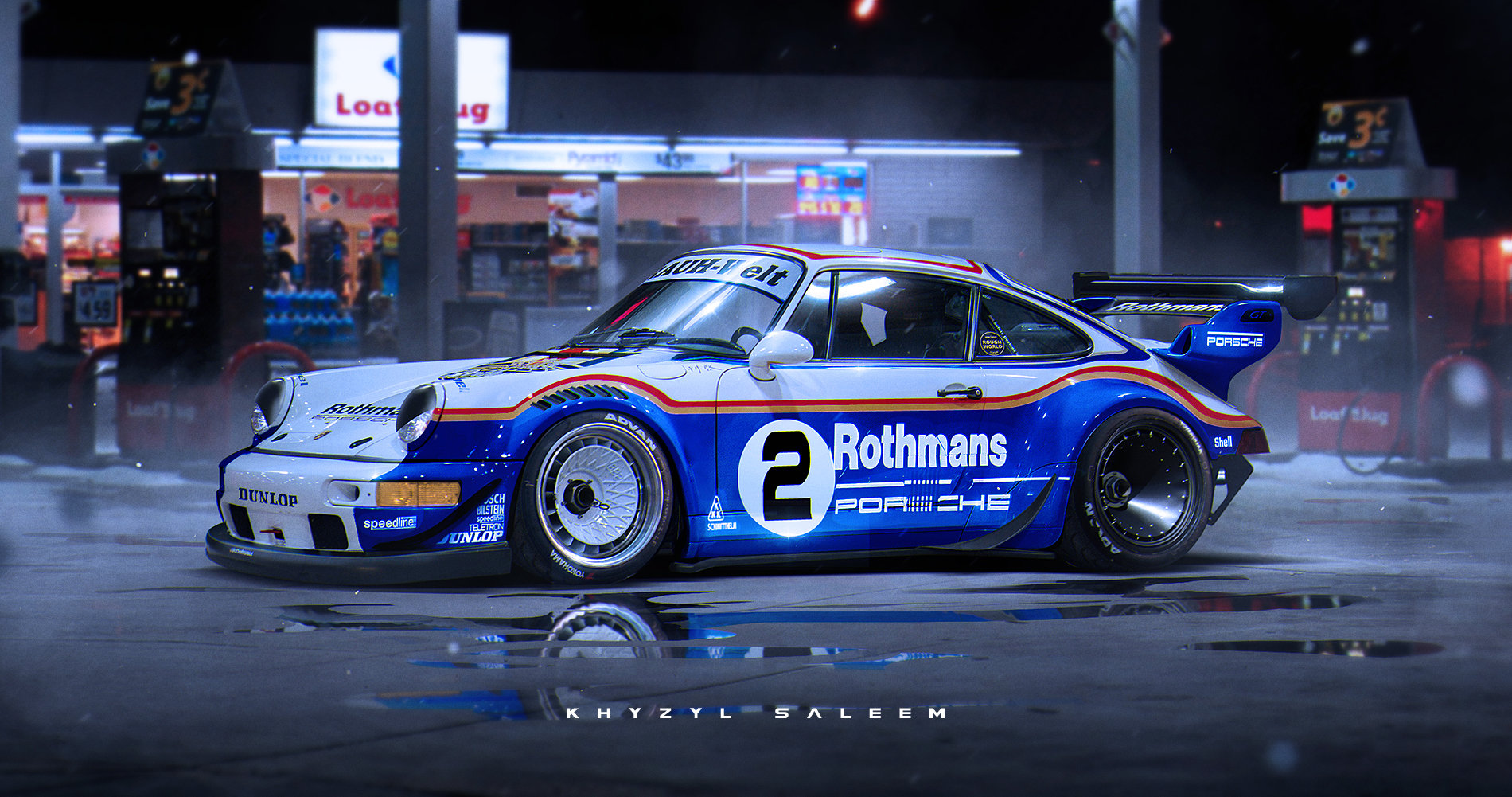 Rwb Porsche 918 Rendering Is Excellent Enough To Think Someone Might Just Build It Flatsixes