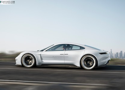 Introducing Mission E: Porsche's All-Electric, 600 hp Concept Car