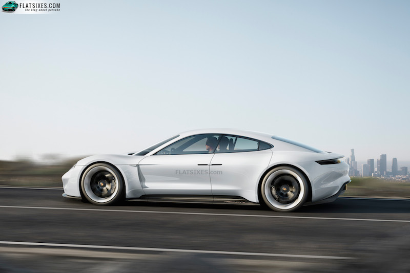 porsche mission e electric car type 717-small