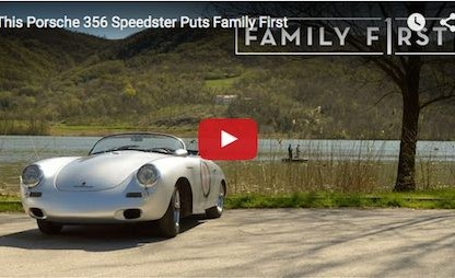 A Porsche 356 Speedster That Puts Family First