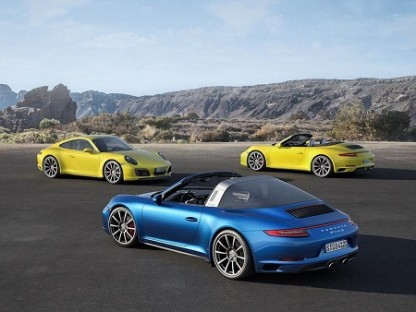 Porsche Gives The New 3.0 Liter Turbo Engine All-Wheel Drive With The New 2017 Carrera 4 and Targa 4 Models