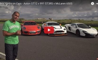 How Does The Porsche 911 GT3 RS Compare To The McLaren 650S And Aston GT12