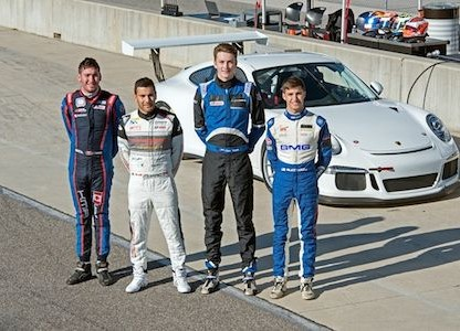 Four Champion Drivers Take Part In Porsche's Young Driver Academy