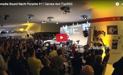 Listen To Porsche Sound Nacht 2015