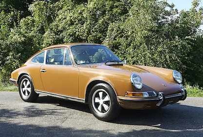 Steve McQueen's Mistress' Porsche 911T Up For Auction