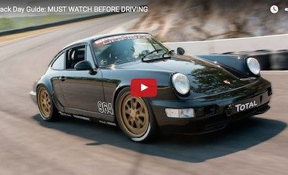 Thinking Of Taking Your Porsche To A Track Day Event? You're Going To Want To Watch This!