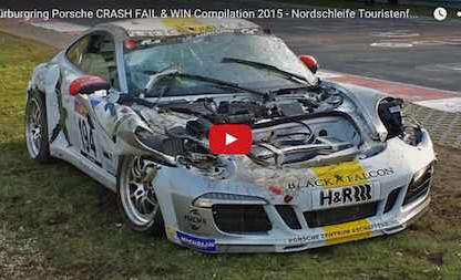 Nürburgring Porsche Crash Compilation Is Tough To Watch