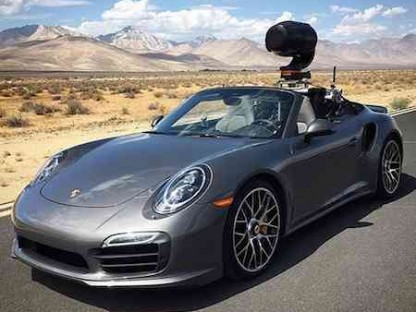 This 911 Turbo S Cabriolet Is One Badass Camera Car