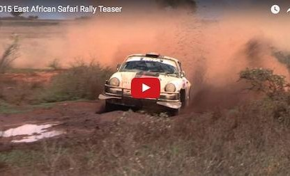 Porsches In The World Famous East African Safari Rally