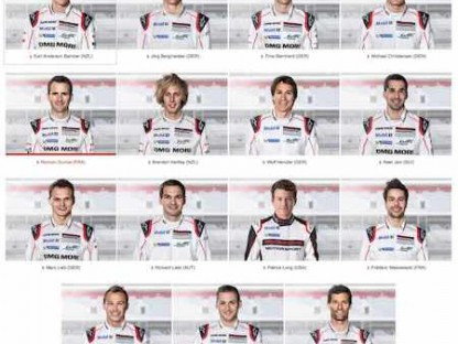 These Are Porsche's 2016 Factory Drivers
