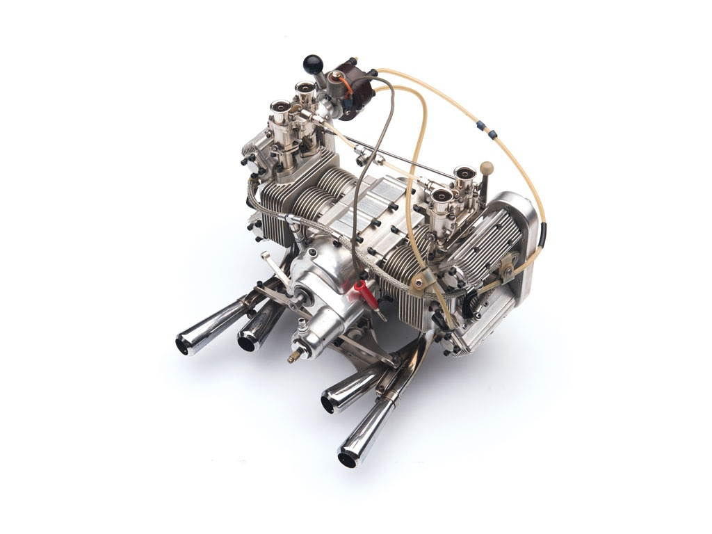 Hand crafted working miniature porsche engines for sale for Engine motors for sale