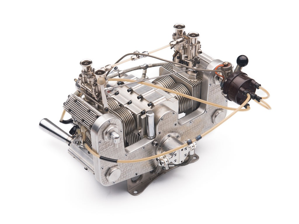 Hand Crafted Working Miniature Porsche Engines For Sale