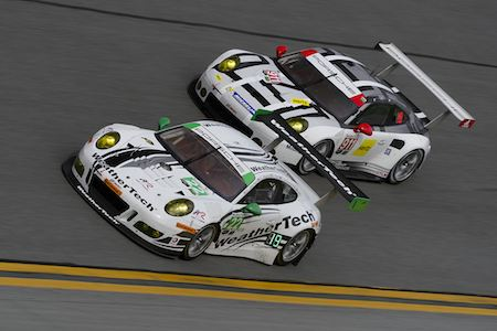 New Porsche 911 Rsr And Gt3 R Seen For First Time On Track