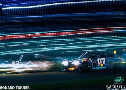 The Last Turn – Painting With Light At Daytona