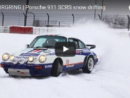 The Best Cure For The Winter Blues Is A 911 SC/RS And A Snowy Nürburgring