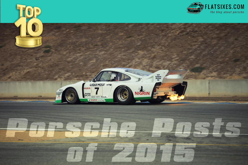 Top 10 Porsche posts of 2015