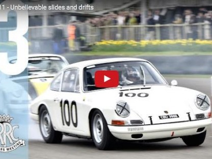 Watch The Unbelievable Slides and Drifts of These Classic 911s