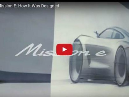Porsche Mission E: How It Was Designed