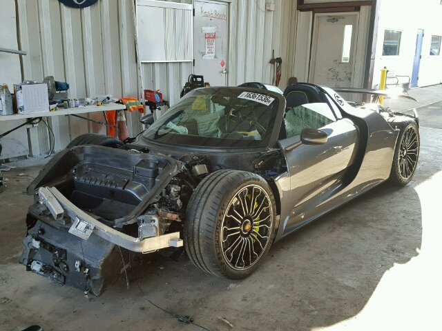 low mileage 918 spyder for sale affordable but needs work flatsixes. Black Bedroom Furniture Sets. Home Design Ideas