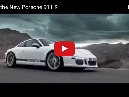 The New Porsche 911 R By The Numbers