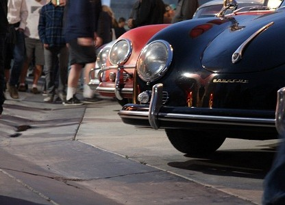 Rain Can't Dampen Our Spirits At The LA Porsche Swap Meet Weekend