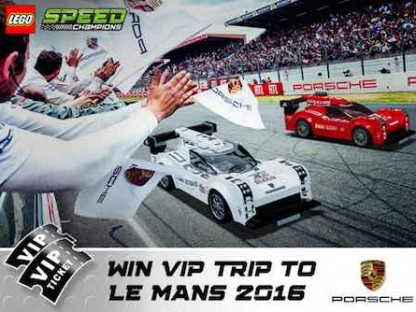 Win A Trip To Le Man From LEGO