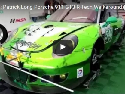 Pat Long Walks You Around His Black Swan Racing 991 GT3R