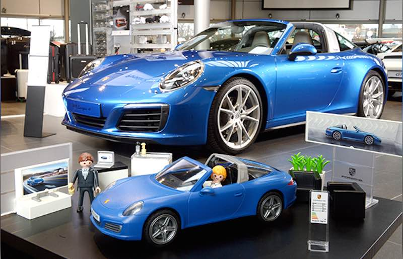 introducing the porsche 911 targa 4s from playmobil flatsixes. Black Bedroom Furniture Sets. Home Design Ideas