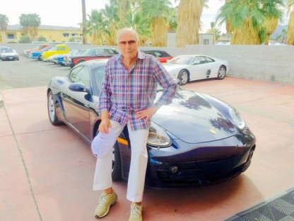 POW! Holy Cayman, Batman! Adam West Is Selling His Porsche