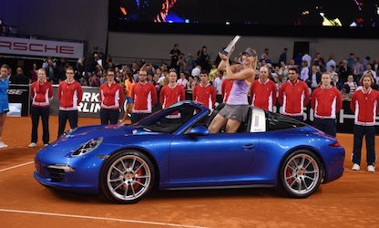 Porsche Brand Ambassador Maria Sharapova Announces She Failed Drug Test