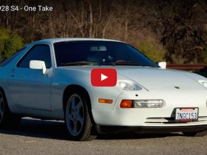 What's It Like To Drive A Porsche 928 S4 For The First Time?