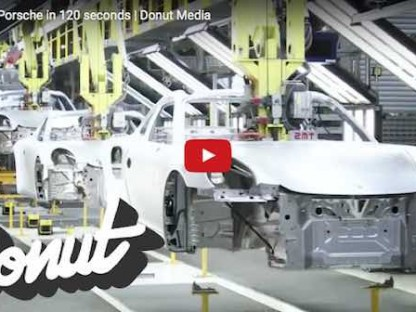 Watch A New Porsche Get Built In 120 Seconds