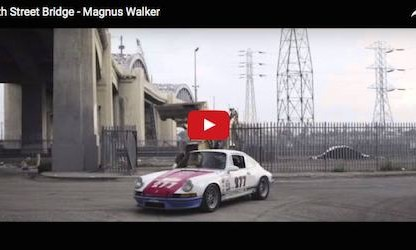 Magnus Walker's Opus On The 6th Street Bridge