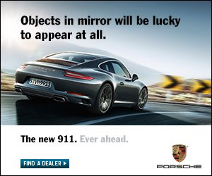 Objects in mirror will be lucky to appear at all