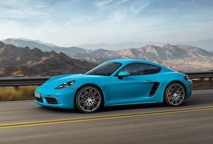 This Is The new 2017  Porsche 718 Cayman