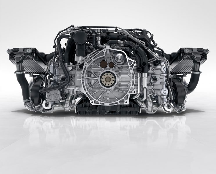 Sports Car Engine Parts : What makes porsche s new liter turbocharged carrera