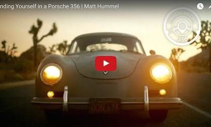 Driving A Porsche 356 On Roads Usually Reserved For Off-Road Equipped SUVs