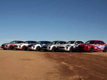 Porsche Dressed Up Six Macans As Pikes Peak Winners, Here Are The Cars They're Based On