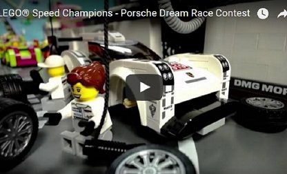 LEGO Fans Create The Coolest Porsche Films Ever In The Porsche Dream Race Contest