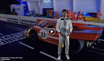 Truth in 1/32: Mark Webber Provides A Slot Car Guide to Le Mans.