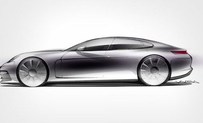 The New Panamera Is Coming and Porsche Says It's The Fastest Luxury Sedan In The World!