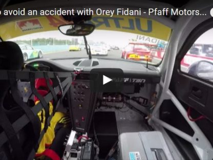 Avoiding An Accident In A GT3 Cup Car Takes Talent, And A Whole Lot Of Luck