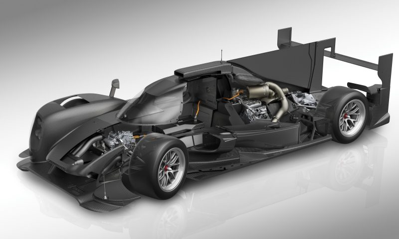 Den Porsche 919 Hybrid zeichnet extremer Leichtbau aus. Das Chassis und alle Karosserie-Bestandteile bestehen aus Kohlefaser. The Porsche 919 Hybrid is an example of extreme lightweight design. The chassis and all key body parts are made of carbon fibre.